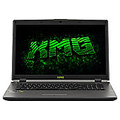 "XMG A704, 17.3"" Advanced Gaming Laptop, Intel Core i5, NVIDIA graphics, 8GB RAM, 1TB & 120GB SSD- Black"