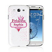 Personalised Bling Princess Samsung S3 Case