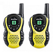 Binatone Latitude 100 Walkie Talkies - Black/Yellow