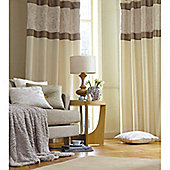 Catherine Lansfield Home Ivory Curtains 66x90 (168x229cm) - CREAM