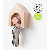 Qualy Pana Hauss Beech Wood Key Holder Hook QLPN10027