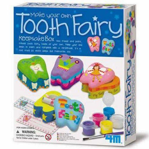 Great Gizmos Make Your Own Tooth Fairy Keepsake Box