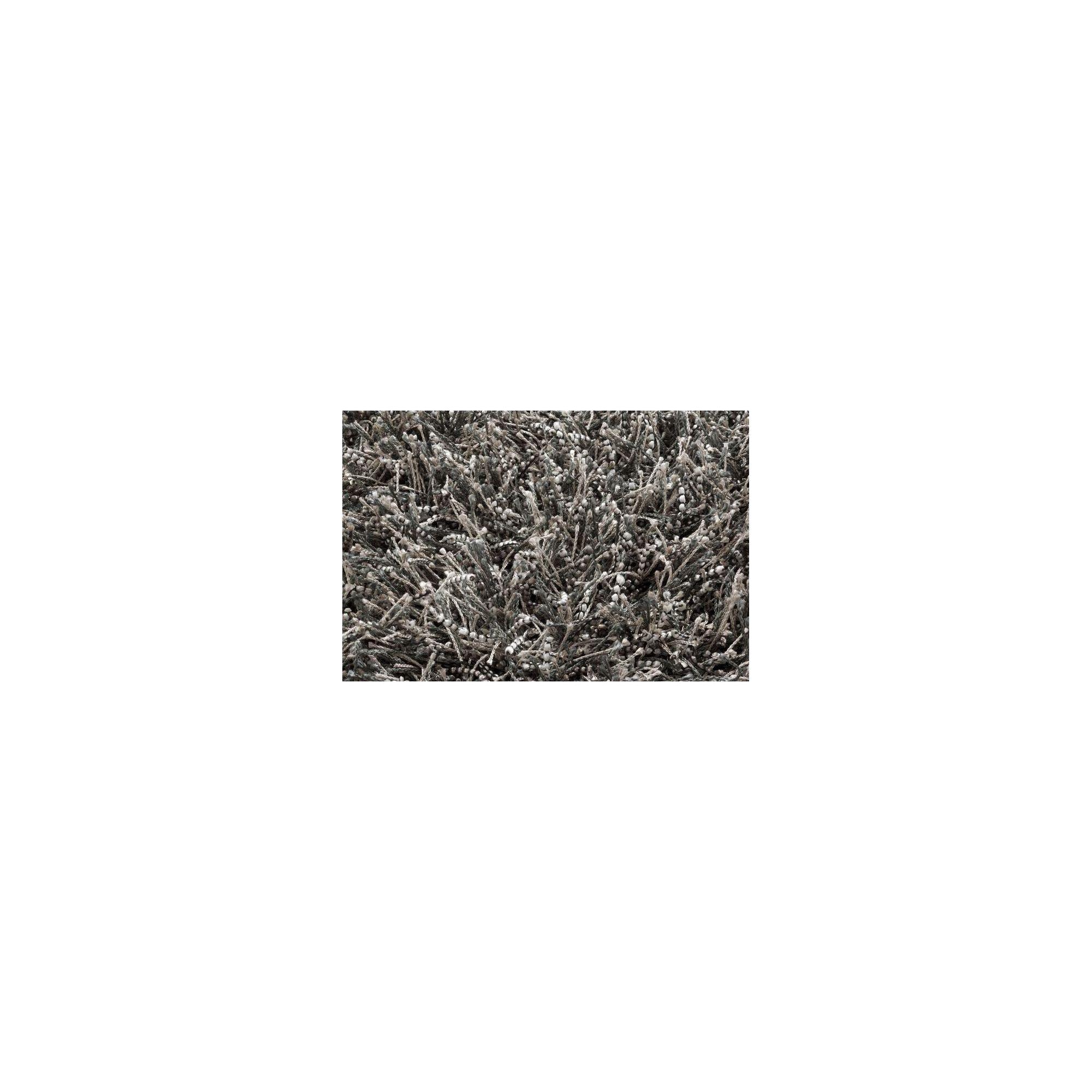 Linie Design Sprinkle Dark Grey Shag Rug - 230cm x 160cm at Tesco Direct