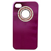 Tortoise™ Look Hard Case iPhone 4/4S Metallic Gem Pink
