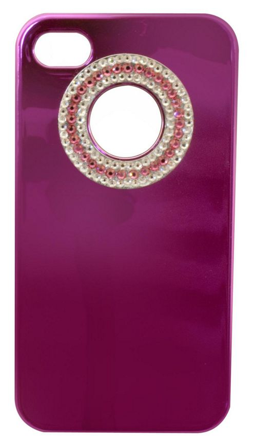 Tortoise™ Look Hard Case iPhone 4/4S Metallic Gem Pink