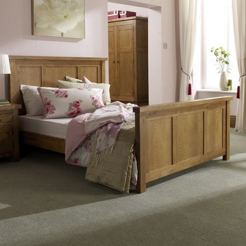 Home Zone Hasting Bed Frame - Double (4' 6