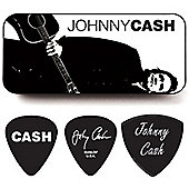Johnny Cash Legend Heavy Pick Tin