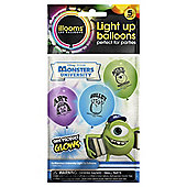 MONSTERS UNIVERSITY BALLOONS 5pk