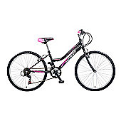 "Concept Diamond Girls 18 Speed 24"" Black"