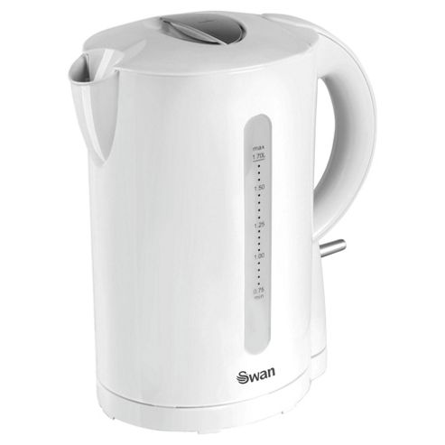 Swan Jug Kettle - White