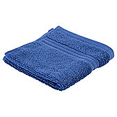 Tesco Hygro 100% Cotton Face Cloth, Sapphire