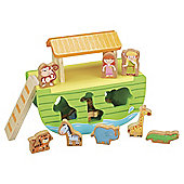 Carousel Noahs Ark Wooden Set