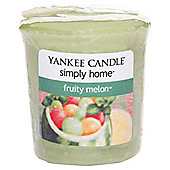 Yankee Votive Fruity Melon
