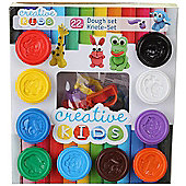 22 Piece Play Dough Animal Craft Set for Kids Play Doh Shapes