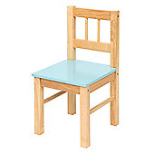 Bigjigs Toys Wooden Chair (Blue)