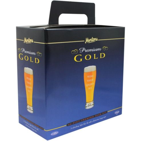 Muntons Midas Touch Golden Ale Home Brew Beer Kit - 40 pints