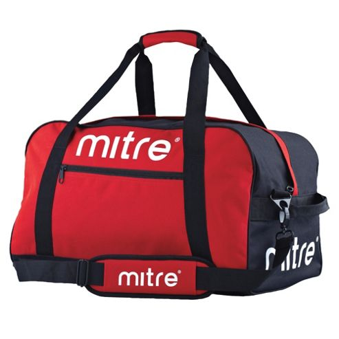 Mitre Sports Gym Kit Bag Holdall, Red
