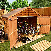 BillyOh 30 3 x 7 Apex Overlap Bike Store Mini Shed