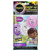Illoom Doc McStuffins Light Up Balloons 5pk