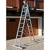 Trade 4Way 4.41m (14.47ft) Triple Combination Ladder