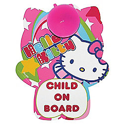 Hello Kitty Car Sign