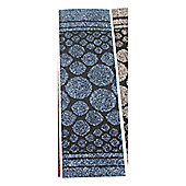 Dandy Cork Runner Blue Contemporary Rug - Runner 67cm x 200cm