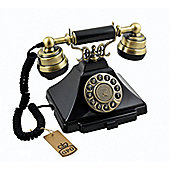 GPO Duke Telephone with push button dial - Black