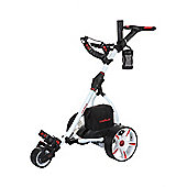 Caddymatic V1 Electric Golf Trolley - White