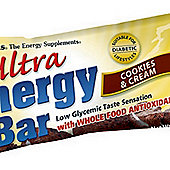 Ultra Energy Cookies & Cream Bar