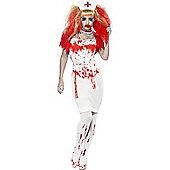 Blood Drip Nurse - Adult Costume Size: 8-10