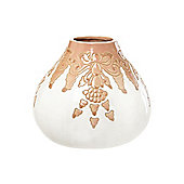 Linea Terracotta Bowl In Cream New