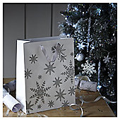 Large Snowflake Christmas Gift Bag