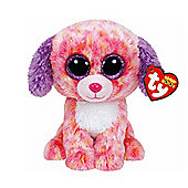 TY Beanie Boo Plush - London the Dog 15cm (Exclusive rare)