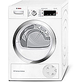 Bosch WTW87560GB Condenser Tumble Dryer, 9kg, A++ Energy Rating, White