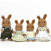 Dappledawn Rabbit Family - Sylvanian Families Figures 4181