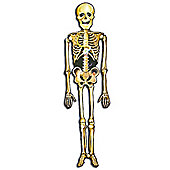 Halloween Decorations Skeleton Jointed Cutout 4.5ft (each)