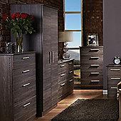 Welcome Furniture Contrast Tall Plain Wardrobe - Panga