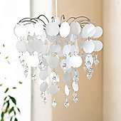 White and Crystal Chandelier