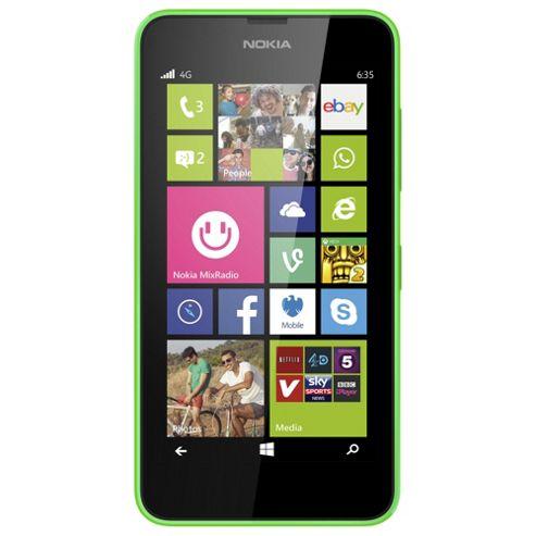 Tesco Mobile Nokia Lumia 635 Green