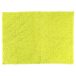Tesco Basic Drylon Bath Mat, Lime