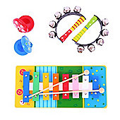 Bigjigs Toys BJ188 Wooden Music Set