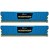Corsair Vengeance Low Profile 8GB (2 x 4GB) Memory Kit PC3-12800 1600MHz DDR3 DIMM (Blue)
