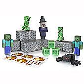 Minecraft 30 Piece Hostile Paper Craft Pack