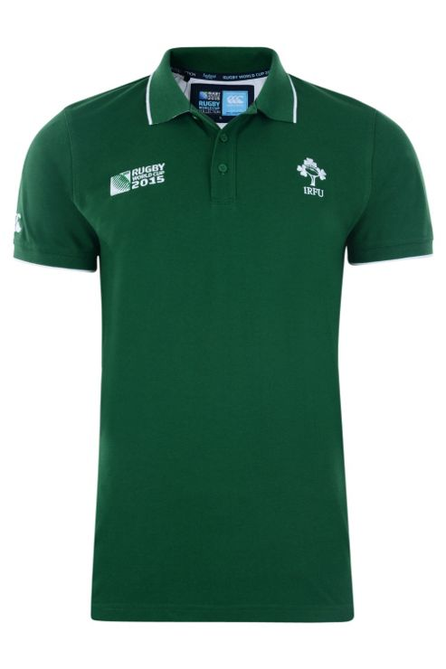 Ireland Rugby Supporter Polo Shirt - Green
