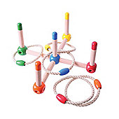 Bigjigs Toys BJ349 Natural Wooden Quoits