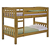 Verona America Kids Bunk Bed Frame - Small Single - Antique Lacquer