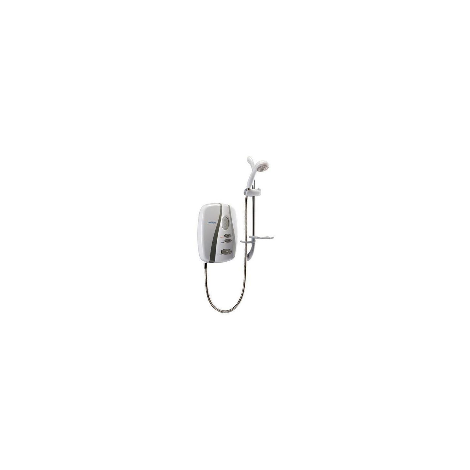 Redring Selectronic Premier Standard Electric Shower White/Chrome 10.8kW at Tescos Direct