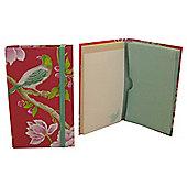 Sanderson Porcelain A6 Handbag Notepad & Concertina File