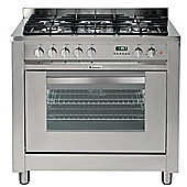 Hotpoint Ultima Dual Fuel Cooker with Electric Grill and Gas Hob ,EG900X S - Stainless Steel