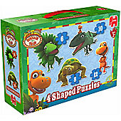 Dinosaur Train Four Shaped Puzzles
